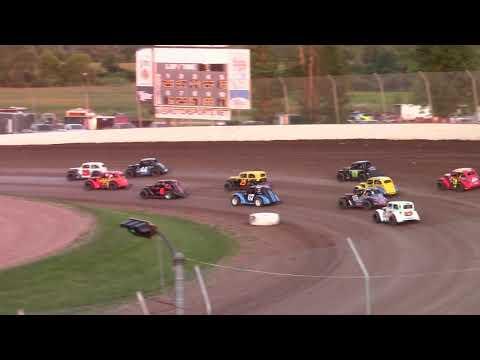 7/17/21 Legend Feature Beaver Dam Raceway - dirt track racing video image