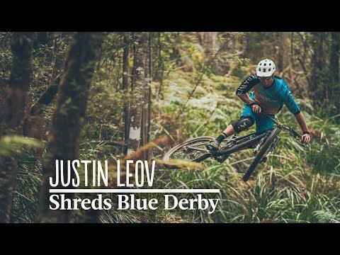 Justin Leov Shreds Blue Derby