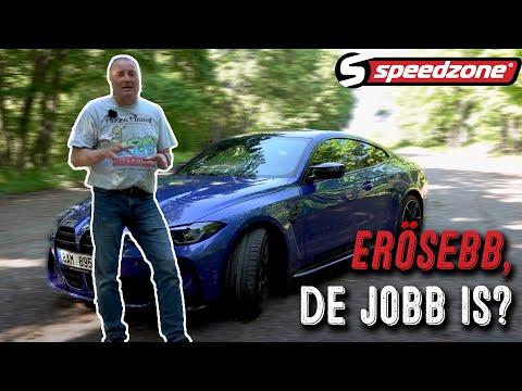 Speedzone teszt: BMW M4 Competition (2021): Erősebb, de jobb is?