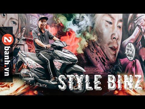 Vario độ KHỦNG, Rapper BinZ thích thú với style này I 2banh Review