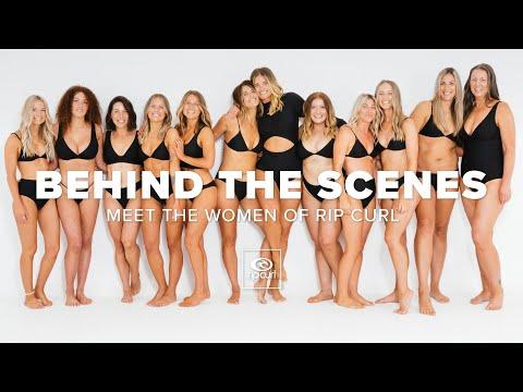 Behind The Scenes Of The Rip Curl Interactive Bikini Fit Guide   Rip Curl Women