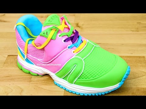 How to make a Running SHOE CAKE / Pastel Zapatilla - UCjA7GKp_yxbtw896DCpLHmQ