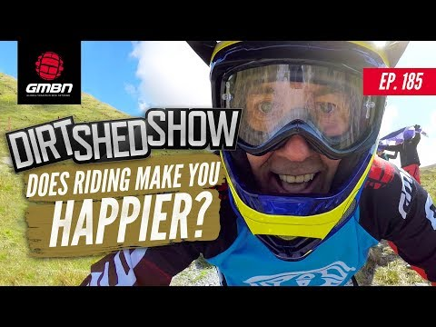 """Does Riding Make You Happier""""   Dirt Shed Show Ep. 185"""