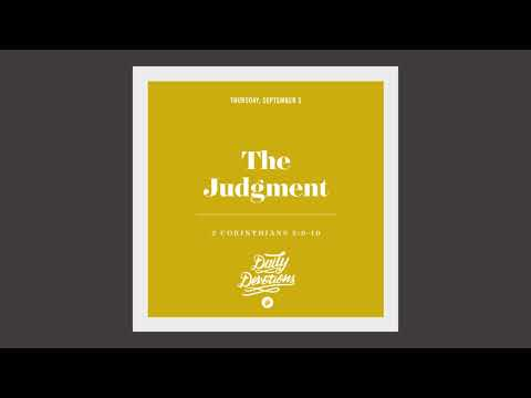 The Judgment - Daily Devotion
