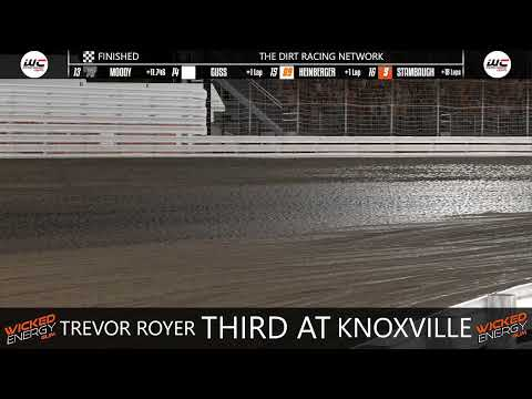 Dirt Slingers Monday Night Thunder Season 13 Week 7 @ Knoxville FIXED - dirt track racing video image