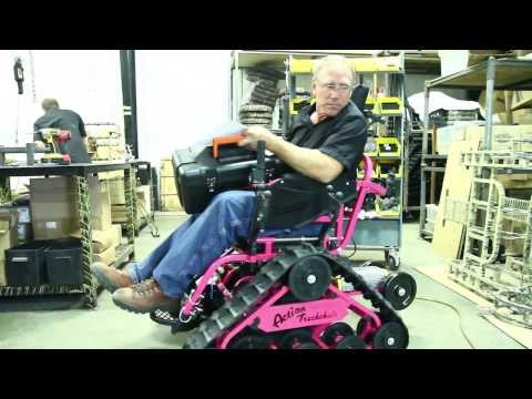 ultimate all-terrain wheelchair>