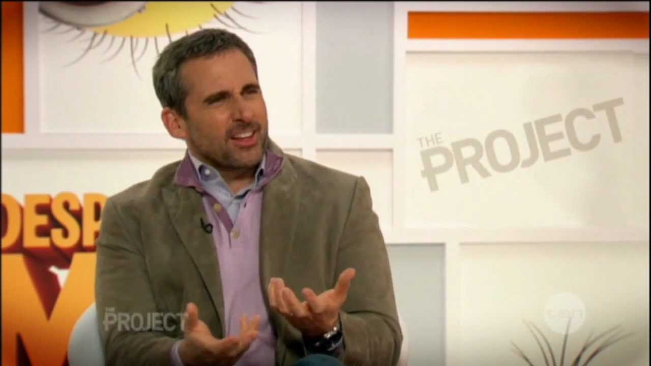 Steve Carell & Kristen Wiig interview on The Project - Despicable Me 2