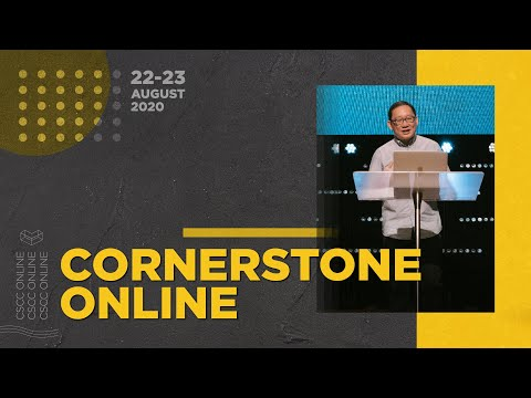 22-23 August '20  Abundance and Not Scarcity  Ps. Lip  Cornerstone Community Church  CSCC Online