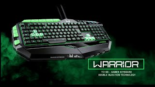 Teclado Multilaser Gamer Professional TC199
