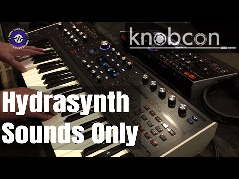Knobcon 2019: ASM Hydrasynth Sounds Only Demo