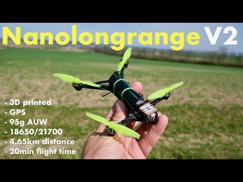 Nanolongrange V2 - single 18650 FPV drone with GPS - UCMZy8UBEuvQFE6YMimQrpUA