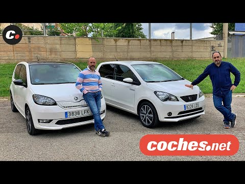 Seat Mii ELECTRIC vs Skoda CITIGO e iV | Comparativa Eléctricos | Prueba / Review | coches.net