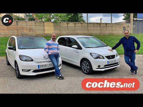 Seat Mii ELECTRIC vs Skoda CITIGO e iV | Comparativa Eléctricos | Prueba / Review | coches.net