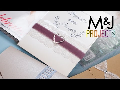 3 Ways to Make Your Own Wedding Invitations