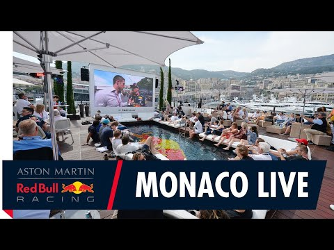 Live from the Monaco Red Bull Energy Station with David Coulthard!