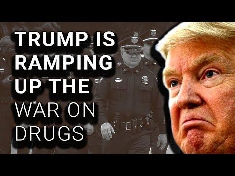 ORANGE MENACE: Trump Focus On Opioid Law Enforcement, Not Treatment