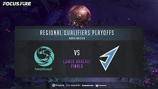 Beastcoast vs J. Storm - Game 1 (BO3) | The International 2019: NA Qualifier LB Finals