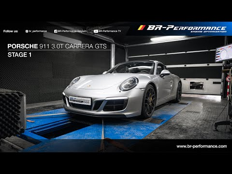 Porsche 911 3.0T Carrera GTS / Stage 1 By BR-Performance