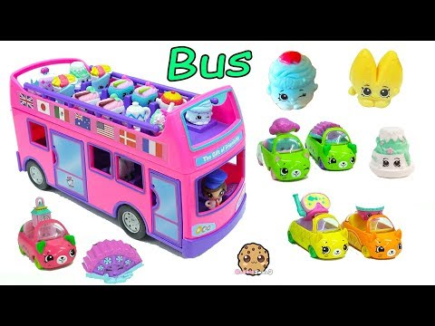Surprise Blind Bag Season 8 Shopkins Ride The Gift 'Ems Double Decker Tour Bus Car - UCelMeixAOTs2OQAAi9wU8-g