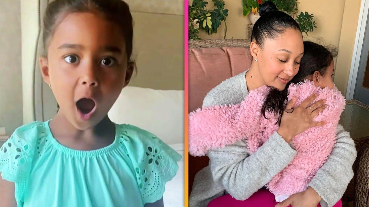 Watch Tamera Mowry-Housley's Daughter Practice Her ACTING Skills