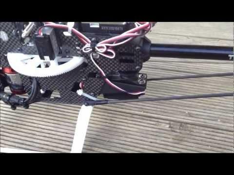 HK ZYX FLYBARLESS System on HK 450 PRO | FpvRacer lt
