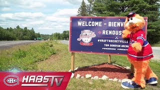 Youppi! visits Renous ahead of Hockeyville