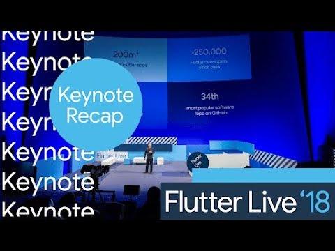 Flutter Live Keynote Recap - UC_x5XG1OV2P6uZZ5FSM9Ttw