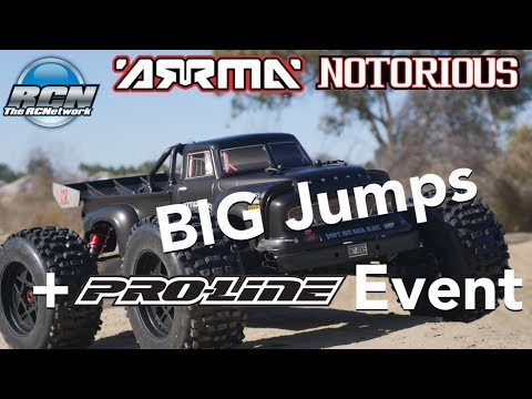 Arrma Notorious 6S BLX Running Video and Pro-Line Monster Truck Footage - UCSc5QwDdWvPL-j0juK06pQw