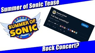 Summer of Sonic Announcement Incoming?