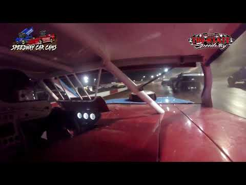 #49 Cole Wells - USRA Modified - 6-12-2021 Tri-State Speedway - In Car Camera - dirt track racing video image