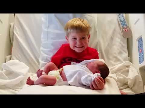 Super Adorable Moment When Big Brothers and Big Sisters Meet Newborn Baby For The First Time