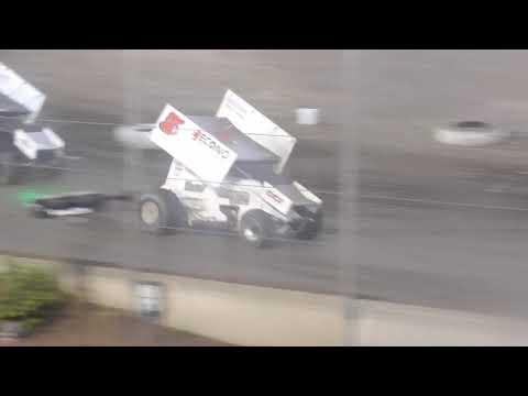 Willamette Speedway Western Sprint Tour Speedweek Night #2 July 13th, 2021 - dirt track racing video image