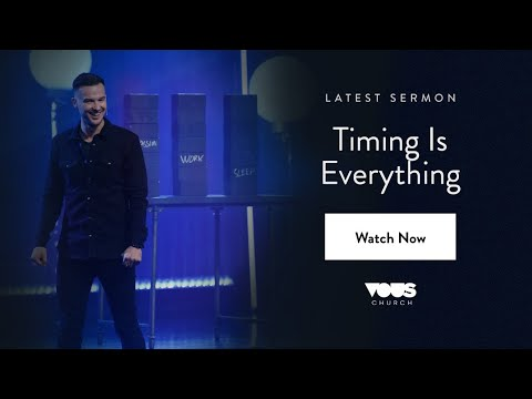 Rich Wilkerson Jr  Book Of Esther: Timing Is Everything