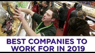 Here are the best companies to work for in 2019