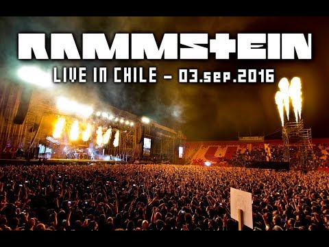 Rammstein Live in Chile 2016   Full Show Multicam HD
