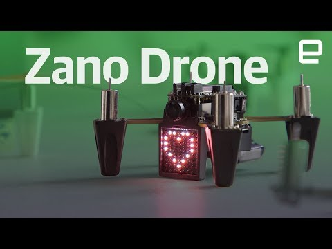 Zano Drone Returns! first look at CES 2018 - UC-6OW5aJYBFM33zXQlBKPNA
