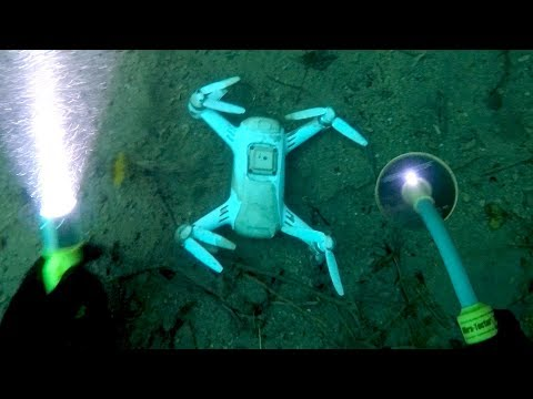 Found Crashed Drone & Working Camera Buried Underwater Beneath Waterfall! (Testing LeFeet S1) - UCV-KFx9A6HD7gZ3FoMNzt7g