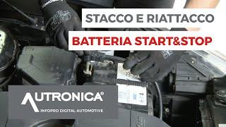 Sostituzione batteria Giulietta-Alfa Romeo