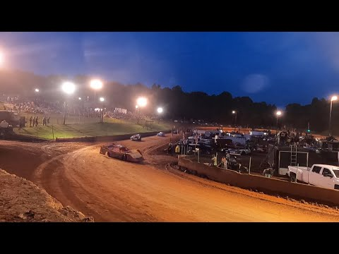 602 Late Model at Winder Barrow Speedway July 10th 2021 - dirt track racing video image