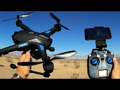 JJRC H26WH Large FPV Altitude Hold Drone Flight Test Review - UC90A4JdsSoFm1Okfu0DHTuQ