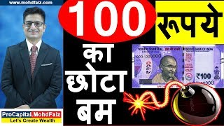 100 रूपये का छोटा बम | stock market for beginners | share market in hindi | stock market in hindi