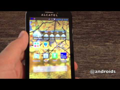 T-Mobile Alcatel ONE TOUCH Fierce hands-on - default