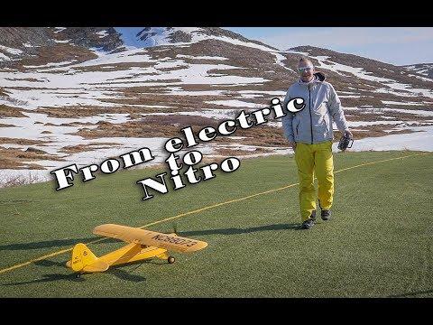 TopRc Hobby J3 Cub Converted to Nitro!!  -  Maiden Flight and amazing speed!! - UCz3LjbB8ECrHr5_gy3MHnFw