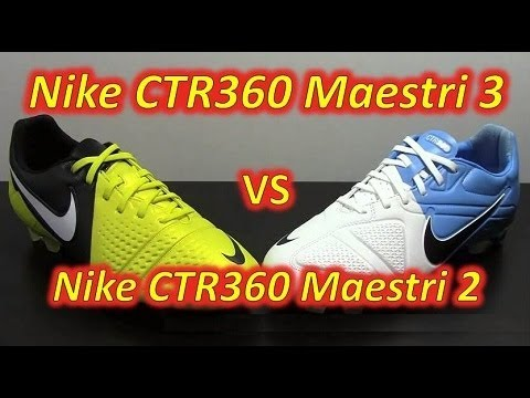 newest ad326 86574 Video Nike CTR360 Maestri III VS Nike CTR360 Maestri II - Comparison -  UCUU3lMXc6iDrQw4eZen8COQ