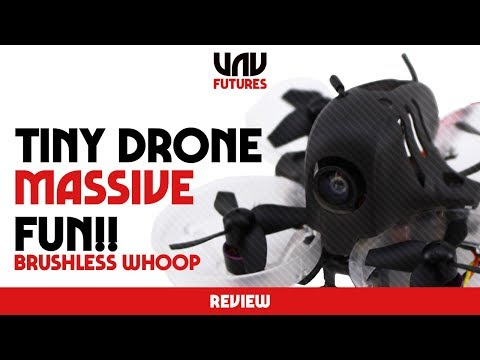 MY NEW ADDICTION! BRUSHLESS WHOOPS!! HB64 FPV DRONE REVIEW - UC3ioIOr3tH6Yz8qzr418R-g