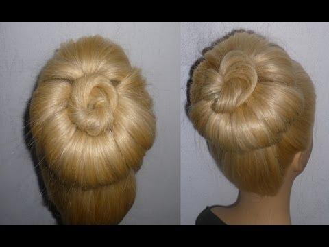Festliche Frisuren Hochsteckfrisur Abschlussball Frisur High Bun