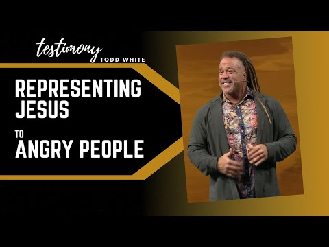 Todd White - Representing Jesus to Angry People (TESTIMONY)