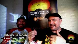 Entrevista a Cashetano La Merluza en semifinales de Arena Sonora 2020 (13.02.2020)