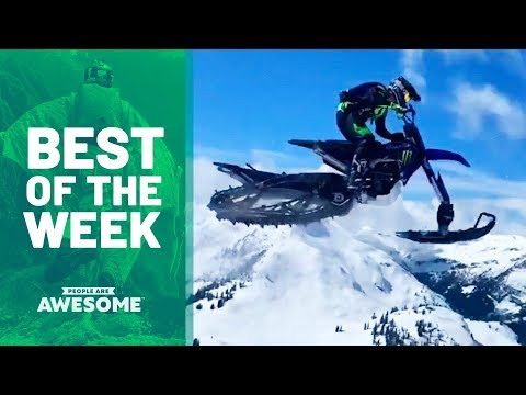 Snowmobiles, Skateboarding & Dance Moves | Best of the Week - UCIJ0lLcABPdYGp7pRMGccAQ