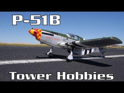 Tower Hobbies P-51B ARF Review | HobbyView - UCNx5Jk2demMQSMmn692ce_A